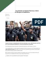Qué Hay Detrás de Las Protestas en Guyana Francesa, El Único Territorio de La Unión Europea en Sudamérica - BBC Mundo