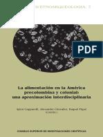 La Alimentacion en La America Precolombina y Colonial
