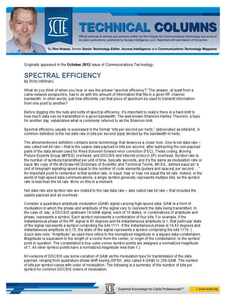 12 10 01 Spectral Effieciency Bit Rate Modulation