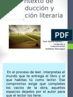 Contexto de Producción y Recepción Literaria