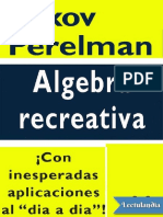 Algebra Recreativa - Yakov Perelman