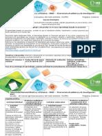 Guía de Actividades y Rúbrica de Evaluación – Fase 3 Debatir y Desarrollar El Proyecto Planteado Sobre Nutrición y Bioseguridad