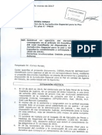 Carta Radicada Secretario JEP Sometimiento