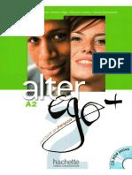 Alter Ego 2 Méthode de Français A2 Livre d'Éleve