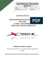 Xm-dt-01-Pts-31 Carga%2c Transporte y Descarga de Materiales
