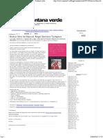 Nuevo Libro de Manuel Ángel Santana Turégano - Ventana Verde