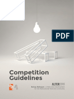 ALTER2016 Competition Guidelines