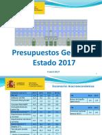 Presupuestos Generales Estado 2017