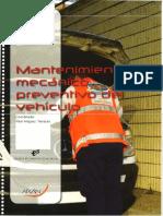 Manual Mantenimiento Mecánico Preventivo Del Vehículo