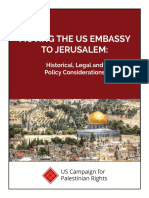 Moving the US Embassy to Jerusalem