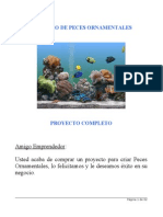 Proyecto Completo Para El Armado de Un Criadero de Peces Ornament Ales