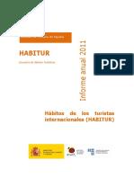 Informe Habitur 2011