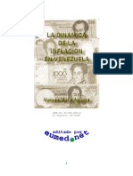 La Dinamica de La Inflacion en Venezuela Colección de Ensayos