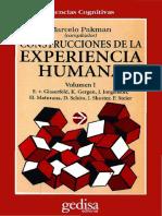 [Marcelo Pakman] Construcciones de la experiencia humana, vol 1.pdf