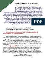 Un Document Absolut Senzational - BC1