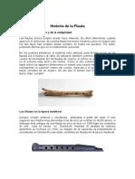 Historia de La Flauta