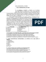 Guía Comprensión Lectora - 1º Medio - Lenguaje - Para El 5 de Abril.