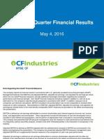 CF Industries Presentation May 2016