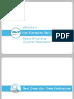 NextGen Sarix Pro Customer Presentation