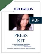 Khori Faison Press Kit PDF