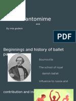 ballet pantomime