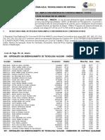 Classificação AMZUL 01-2014