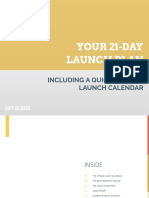 Your 21-Day Launch Plan