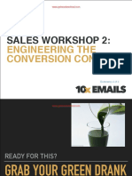 Sales Workshop Part 2