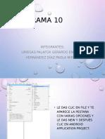 Programa 10 de Android