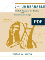 (Suny Series, Modern Jewish Literature & Culture) Frieda W. Aaron-Bearing the Unbearable_ Yiddish and Polish Poetry in the Ghettos and Concentration Camps-State University of New York Press (1990).pdf