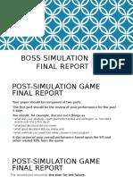 SP Jain - BOSS Final Report Guidelines