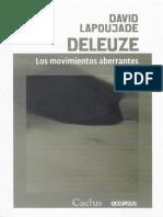 Lapoujade - Deleuze. Los Movimientos Aberrantes
