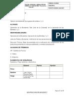 """GO-P011V1-PROCEDIMIENTO DE CONTROL Y OPERACIÓN DE EQUIPOS DE BOMBEO 1 Y 2 BOCATOMA """"San José La Colorada""""..docx"""