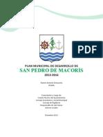 Plan Municipal de Desarrollo San Pedro de Macoris