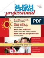 English Teaching Professional 60 Jan 2009