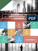 Grupo 9 - Elementos de Identificação Da Empresa