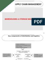 Warehousing and Storage Mgt