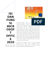 Mengenal Isi Dan Fungsi Microsoft Office 2010