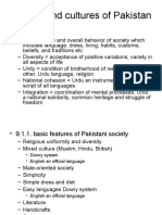Cultures of Pakistan.ppt