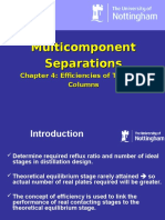 Chapter 4- Efficiency of Columns