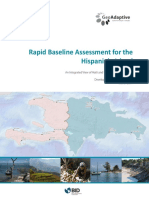 Rapid Baseline Assessment for Hispaniola Island