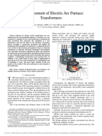 Life Assessment of Electric Arc Furnace Transformers