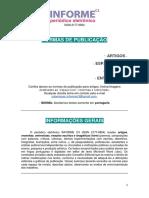 normas de publicacao informec3 2017