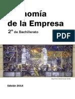 Economia de La Empresa 2º de Bachillerato 2014