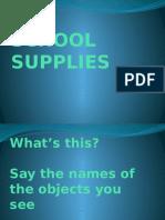 School Supplies/Classroom Objects