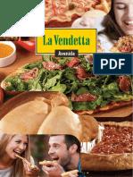 Ejemplo de Carta Pizzería