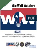District Wide Watt Watchers Manual