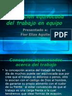Concepción Equivocada Del Trabajo en Equipo