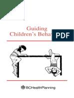 Guiding Children Behaviour