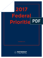 2017 Federal Priorities Partnership for New York City
